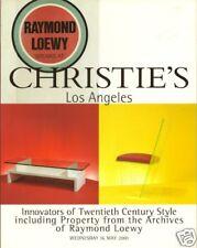 CHRISTIE'S 20c Style Design Mont Haines Parzinger Loewy