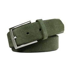 Accessoires vertes en cuir pour homme