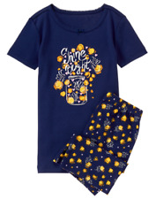 Nwts 3 GYMBOREE Girls Glow Dark Shine Bright Fireflys In Jar Pajamas Gymmies