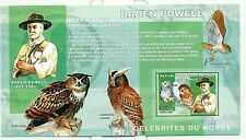 SCOUTISME & HIBOUX - SCOUTING & OWLS  CONGO 2006 Baden Powell block imperforated