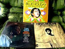 LOT 3 LP NINA SIMONE I put a spell on you 1973 BRAZIL Jazz BLUES BILLIE HOLIDAY