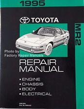 1995 Toyota MR2 Factory Service Manual Original Shop Repair Book Turbo T-Bar
