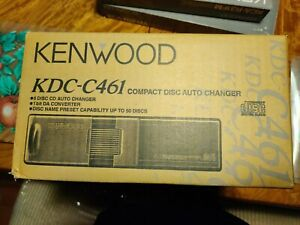 New Kenwood KDC-C461 - 6 Disc CD Auto Changer