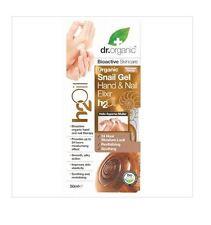 1 x 50ml DR ORGANIC Organic Snail Gel Hand & Nail Elixir