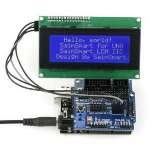 SainSmart UNO R3 + LCD2004 + Sensor V5 für Arduino UNO R3 Nano Robot 63