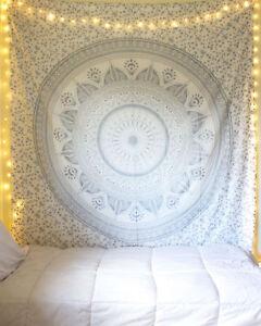 Décor Maison Tapisserie Psychédélique Tenture Murale Coton Tapisserie