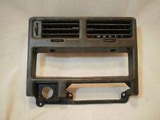 83-86 TOYOTA TERCEL SR5 WAGON Dash Center A/C Vents Heater Control Trim Bezel