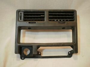 83-86 TOYOTA TERCEL SR5 WAGON Dash Center A/C Vents Heater Control Trim Bezel