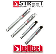 87-96 Ford F150 Street Performance Front/Rear Shocks for 2/4 Drop