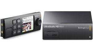 Blackmagicdesign Ultrastudio HD Mini, Thunderbolt 3 + Mini smart panel
