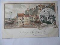 Ansichtskarte Meersburg 1898 Künstlerkarte Mutter