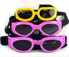 Extra Small Medium DOG Goggles SUNGLASSES UV NEW Eye Protection Labrador Puppy