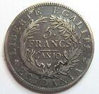 - ITALIE - 5 Francs - Gaule subalpine - AN 10 -