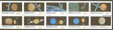 US Scott # 2568-77 (2577a) Space Exploration / Mint Pane of 10