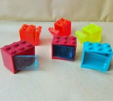 LEGO CUPBOARDS AND CONTAINER BOXES