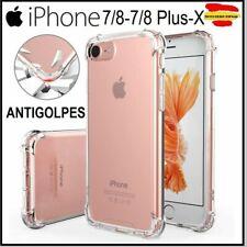 9Funda Iphone 5 5s SE 6 6s 6P 7 8 PLUS X XS XR XS 11 PRO MAX antigolpes y crista