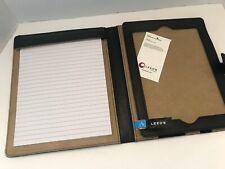 Alicia Klein Black Leather UltraHyde iPad Note Taker Generation 1,2,3,& 4 EUC