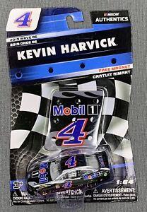 NASCAR AUTHENTICS #4 KEVIN HARVICK MOBIL 1 W/ MAGNET - 2019 WAVE 06 - 1:64 SCALE
