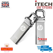 HP v250w USB Flash Drive Memory Stick Hook Clip Look Metal