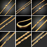 Unisex Men Punk Hip Hop Jewelry Stainles Steel Silver Link Chain Choker Necklace