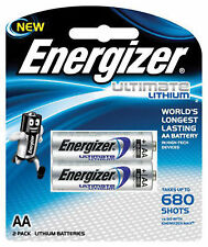 Energizer L91BP-2 1.5V Lithium Battery - 2 Pack
