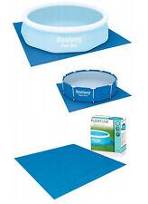 Bestway Plano de Tierra 274-488cm Lona Protección Suelo Pool-Unterlege Del