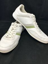 Lacoste Casual White Leather Lace-up Shoe Sneakers 29061-0813 Mens US Size 13