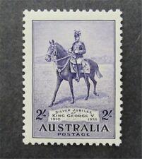 nystamps British Australia Stamp # 154 Mint Og Nh $85 U4y1486