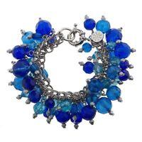 Black Friday QVC Isaac Mizrahi Live! Multi-Charm Purple Bracelet