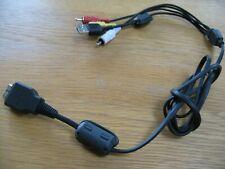 Genuine SONY USB AV Cable type 2 VMC MD2 DSC-W215 W220 W230 W270 W275 W290 W330