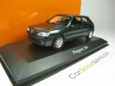 PEUGEOT 306 3 DOORS 1998 1/43 MAXICHAMPS (GREEN)