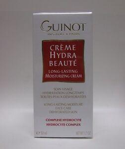 Guinot Creme Hydra Beaute Long Lasting Moisturizing Cream 1.7 oz / 50 ML New