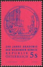 Austria 1992 Academy of Fine Arts 300th Anniversary/Art/Artists 1v (n44315)