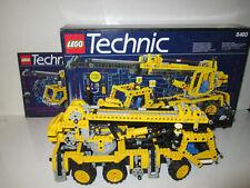 Lego 8460 Technic Model Pneumatic Crane Truck Construction 100% Complete 1995