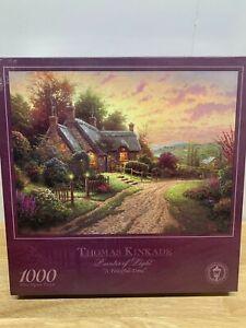 "Thomas Kinkade Painter Of Light ""A Peaceful Time"" 1000 Piece Jigsaw Puzzle"