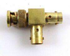 Liquidometer EA9112 Connector Adapter Polarized Triax Gold Plate Avionics