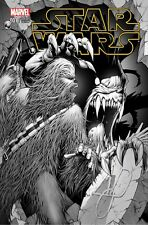 STAR WARS #1 AOD COLLECTABLES B&W SKETCH KEOWN VARIANT LIMITED 1 OF 2000 MARVEL