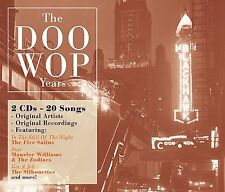 The Doo Wop Years 2 CD Box Set NEW!, Silhouettes,Five Satins,Little Richard,