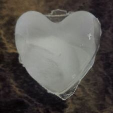 HIC PUFFY THICK HEART SHAPED SILICONE ICE CUBE MAKER 10 HEARTS ball tray