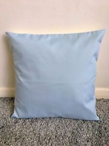 """NEW 12"""" PLAIN BABY BLUE CUSHION COVER PILLOW BED SOFA MORE COLOURS SIZES AVAIL"""