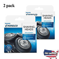 2 PC Philips Norelco SH50 Replacement Shaving Heads for Shaver series 5000 NEW