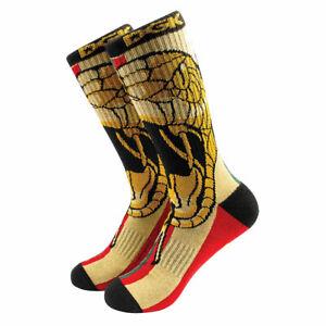 DGK Men's Venom Crew Socks Brown Accessories Casual Sports Good Quality Comfo...