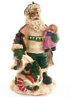 Vtg RARE 1991 Green Irish Santa Claus Doll Toy Figurine Christmas Holiday Decor