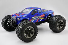 NEW HOBAO 1:8 HB-MT-C30BU HYPER MONSTER TRUCK NITRO RTR -BLUE BODY (LLJSTORE) US
