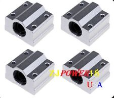 4pc SC8UU SCS8UU 8mm Linear Ball Bearing Linear Motion Bearing Slide For CNC M22