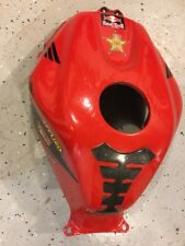 03-06 HONDA CBR 600RR FAIRING TANK COVER FUEL CELL RED OEM 2006 BLACK