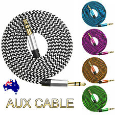 AUX Cable 3.5mm Stereo Audio Extension Male to Male Auxiliary for Car Phone Cord