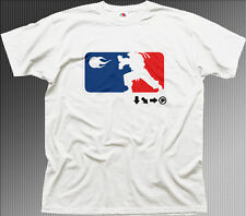 Ama Streetfighter Hadoken de Artes Marciales Mma Ufc Blanco Printed T-shirt fn9959