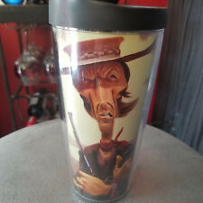 DAVID O'KEEFE Pop Icons ~ Tribute to THE GOOD THE BAD THE UGLY ~ Travel Tumbler