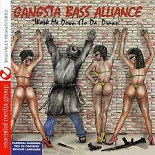 Gangsta Bass Allianc - Work Me Down (To Da' Draws) [New CD] Manufactured On Dema